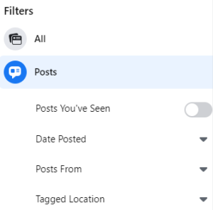Facebook Search Results for post